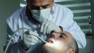 لا يوجد طبيب أسنان