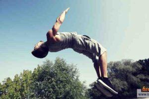 رياضة الباركور وفكرة الهروب